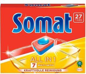 Somat ALL IN 1 7 MULTI-AKTIV Spülmaschinentabs 27 St.