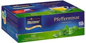 Meßmer Pfefferminze Tee 100 Teebeutel à 2,25 g g