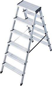 KRAUSE Stehleiter MONTO Dopplo 2x 6 Stufen