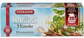 TEEKANNE teeflott Kräutertee Tee 25 Teebeutel à 5,0 g