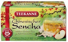 TEEKANNE Chinesischer Sencha Tee 20 Teebeutel à 1,75 g