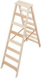 KRAUSE Stehleiter Stabilo 2x 8 Stufen