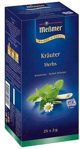 Meßmer Kräuter Tee 25 Teebeutel à 2,0 g