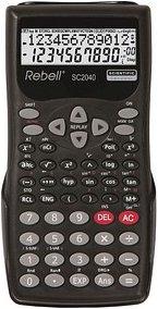 Rebell SC2040 Wissenschaftlicher Taschenrechner