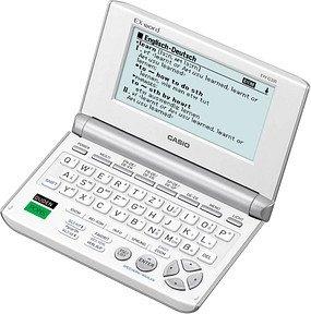 CASIO EW-G200 elektronisches Wörterbuch