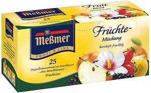 Meßmer Früchte Tee 25 Teebeutel à 3,0 g