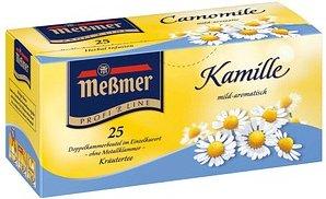 Meßmer Kamille Tee 25 Teebeutel à 1,5 g