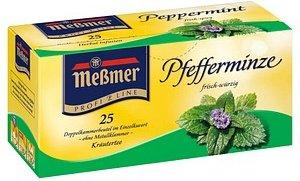 Meßmer Pfefferminze Tee 25 Teebeutel à 2,25 g