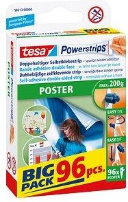 tesa Klebestreifen Powerstrips POSTER