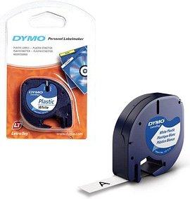 AKTION: DYMO Beschriftungsband 91221 schwarz auf weiß 12 mm