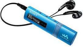 SONY NWZ-B183 MP3-Player blau 4 GB