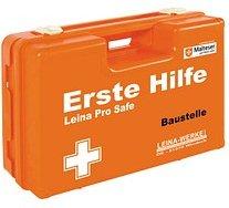 LEINA-WERKE Erste-Hilfe-Kasten Pro Safe Baustelle DIN 13157 + branchenbezogene Zusatzerweiterung orange