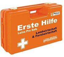 LEINA-WERKE Erste-Hilfe-Kasten Pro Safe Land- & Forstwirtschaft DIN 13157 + branchenbezogene Zusatzerweiterung orange