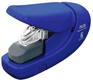 PLUS JAPAN Klammerloses Heftgerät   blau