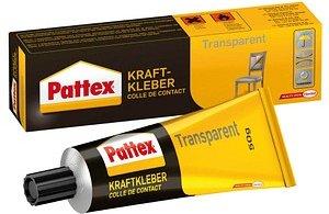 Pattex Kraftkleber Transparent Alleskleber 50,0 g