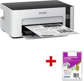 AKTION: EPSON EcoTank ET-M1100 + 2 Jahres Karte für unbegrenztes Drucken Tintenstrahldrucker