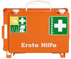 SÖHNGEN Erste-Hilfe-Kasten Quick-CD DIN 13157 orange