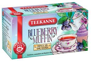 TEEKANNE BLUEBERRY MUFFIN Tee 18 Teebeutel à 2,25 g