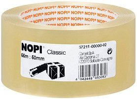 NOPI Packband Classic transparent 50,0 mm x 66,0 m