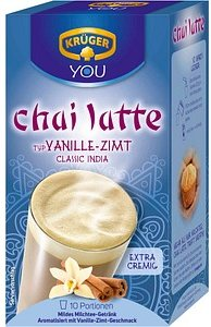 KRÜGER Chai Latte Vanille-Zimt Instanttee 250 g