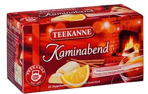 TEEKANNE Kaminabend Tee 20 x 2,0 g