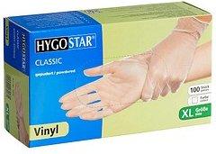 HYGOSTAR unisex Einmalhandschuhe CLASSIC transparent Größe XL 100 St.