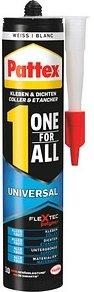 Pattex ONE FOR ALL UNIVERSAL Montagekleber und Silikon weiß 420,0 g