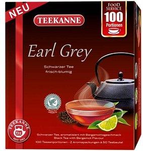 TEEKANNE Earl Grey Tee 100 Tassenportionen à 1,75 g