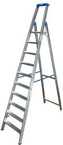 KRAUSE Stehleiter STABILO 10 Stufen