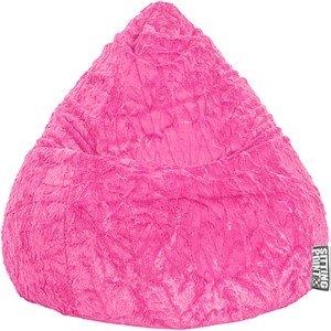 SITTING POINT Beanbag Fluffy XL Sitzsack lila