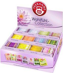 TEEKANNE Wohlfühl-Collection Box Tee 11 verschiedene Sorten, Gesamtinhalt: 180 Beutel