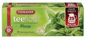 TEEKANNE teeflott Pfefferminztee Tee 25 Teebeutel à 3,5 g