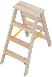 KRAUSE Stehleiter Stabilo 2x 4 Stufen