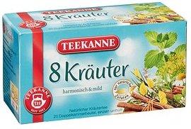 TEEKANNE 8 Kräuter Tee 20 Teebeutel à 2,0 g