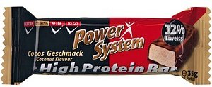 Power System High Protein Bar Cocos Proteinriegel 24 St.