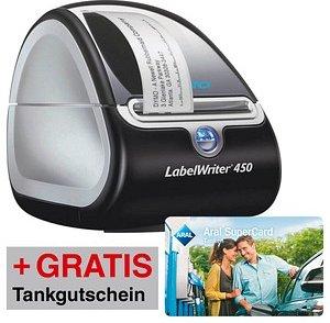 AKTION: DYMO LabelWriter 450 Etikettendrucker + GRATIS Aral Tankgutschein 5 €