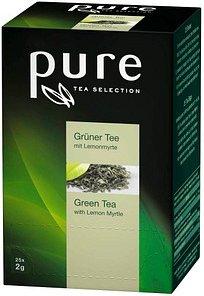 pure Grüner Tee mit Lemonmyrte Tee 25 Teebeutel à 2,0 g