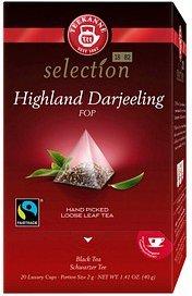 TEEKANNE Luxury Cup Highland Darjeeling Tee 20 Teebeutel à 2,0 g
