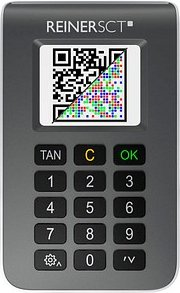 REINERSCT tanJack photo QR Chipkartenleser