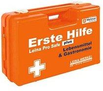 LEINA-WERKE Erste-Hilfe-Kasten Pro Safe plus Lebensmittel & Gastronomie DIN 13169 + branchenbezogene Zusatzerweiterung orange