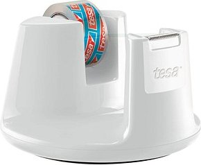 tesa Tischabroller Compact weiß