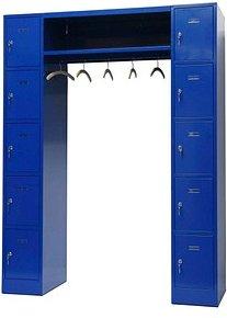 SZ Metall Schließfachschrank blau