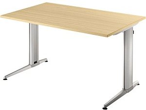 HAMMERBACHER   Sira Schreibtisch ahorn rechteckig