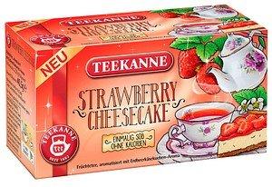 TEEKANNE STRAWBERRY CHEESECAKE Tee 18 Teebeutel à 2,25 g