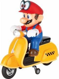 CARRERA Renato Casaro - 2,4GHz Super Mario Odyssey (TM) Scooter, Mario