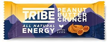 Tribe Energy Natural Oat Bar Peanut Butter Crunch   3 x 50g