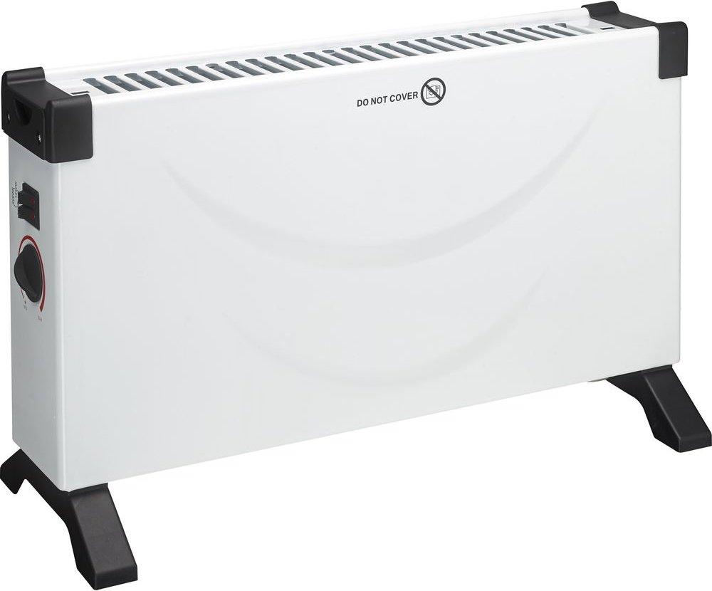 ESSENTIALS C20CHW18 Portable Convector Heater   White   Black  White