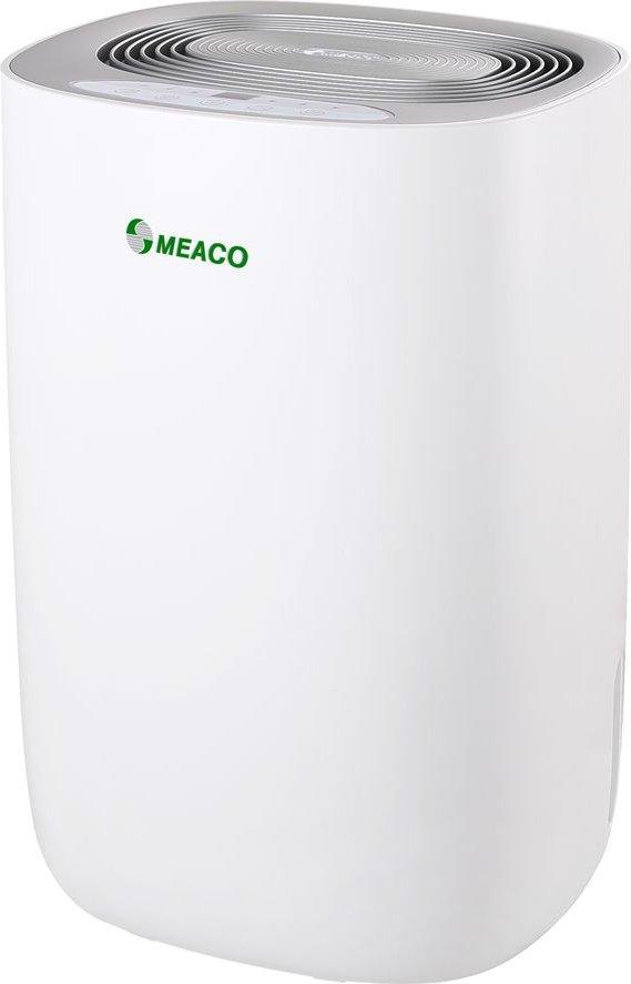 Dry 10L Portable Dehumidifier   White   Silver  White