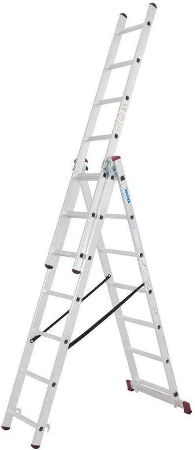 CORDA Vielzweck Leiter Treppe 3x7