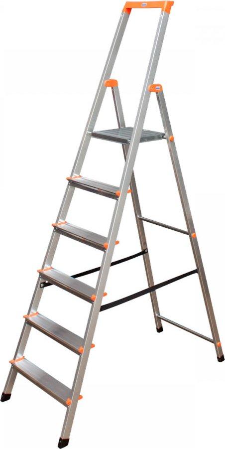 """Stufen-Stehleiter """"Solidy 6"""" Stufen"""